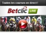 Courses en direct sur Betclic Turf