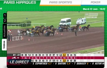 Video des courses pmu.fr en streaming
